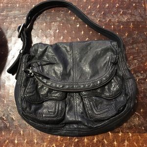 Lucky Brand black soft leather purse